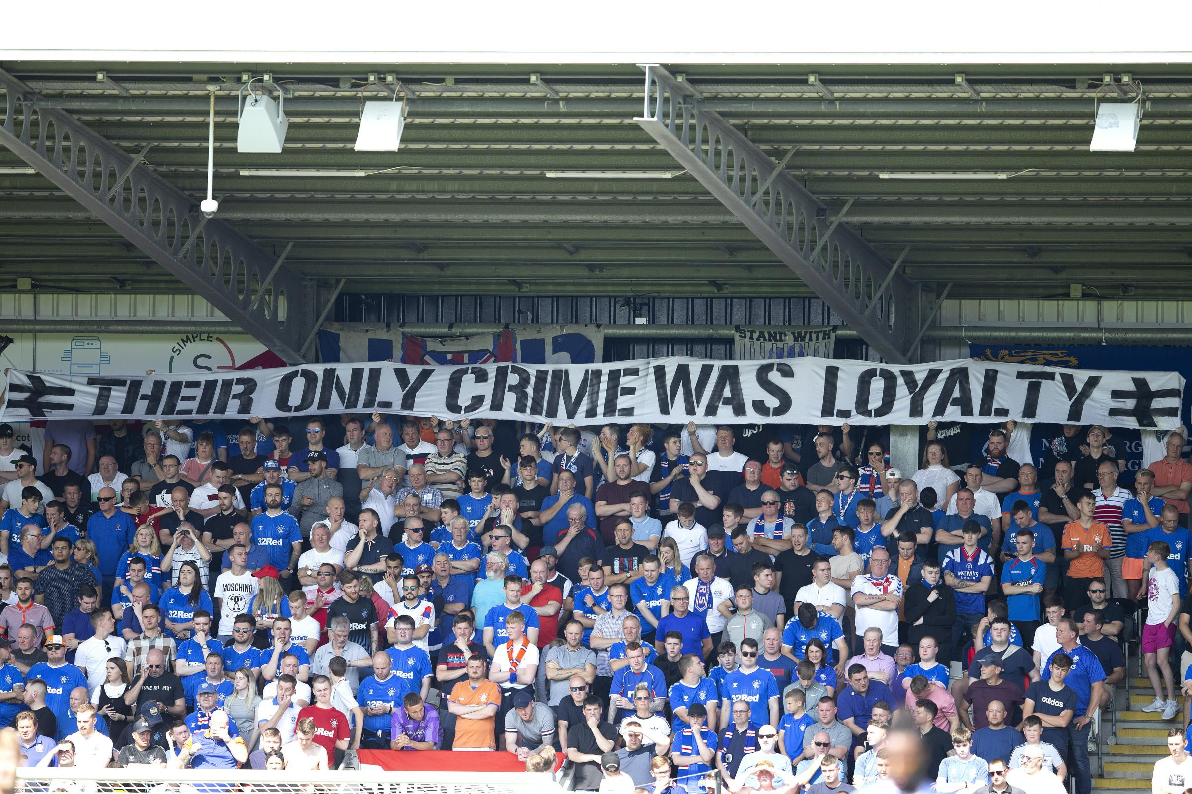 Union Bears accuse Rangers of 'actively facilitating the targeting of our group'