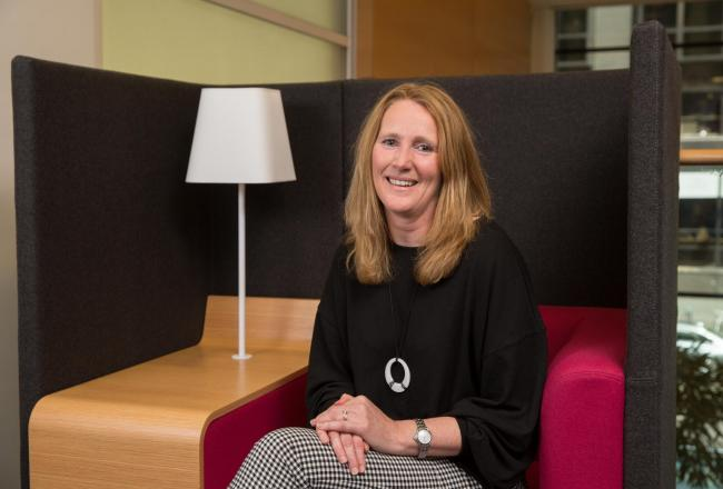 Businesswoman Gillian Duncan joined Intaglio