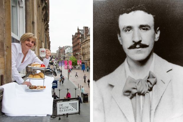 Charles Rennie Mackintosh inspired Willow Tea Rooms up for sale