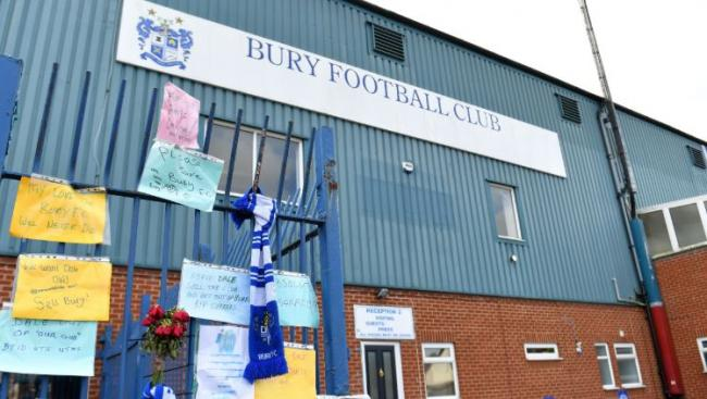 Bury expelled by English Football League after takeover collapses