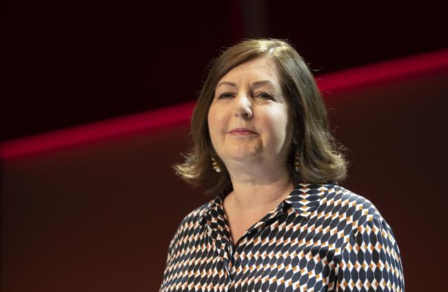 Dorothy Byrne, head of news and current affairs at Channel 4, delivered this year's MacTaggart Lecture at the Edinburgh TV Festival. Photo: Jane Barlow/PA Wire