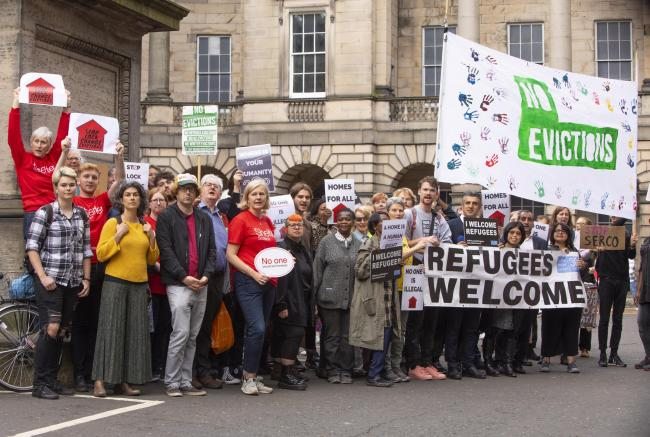 Earlier this month the Court of Session ruled that Serco's planned lock-change evictions of asylum seekers are lawful.