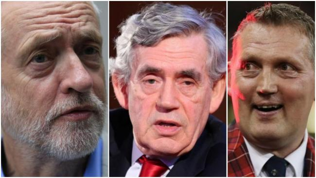 Opinion Matrix: Jeremy Corbyn, Gordon Brown and Doddie Weir