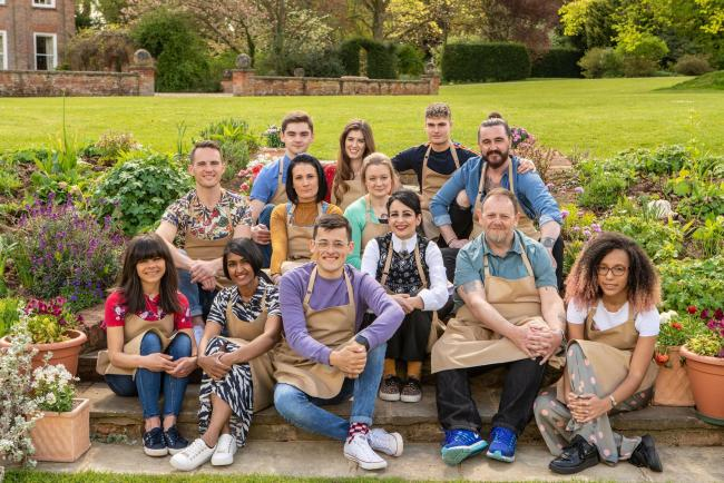 This year a baker's dozen of contestants line up for The Great British Bake Off