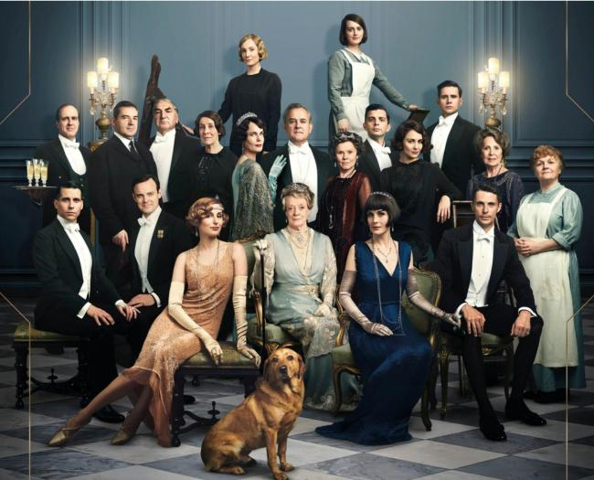 The cast of the new Downton Abbey film is made up of familliar faces