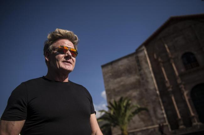 Gordon Ramsay searching for culinary inspiration in Peru