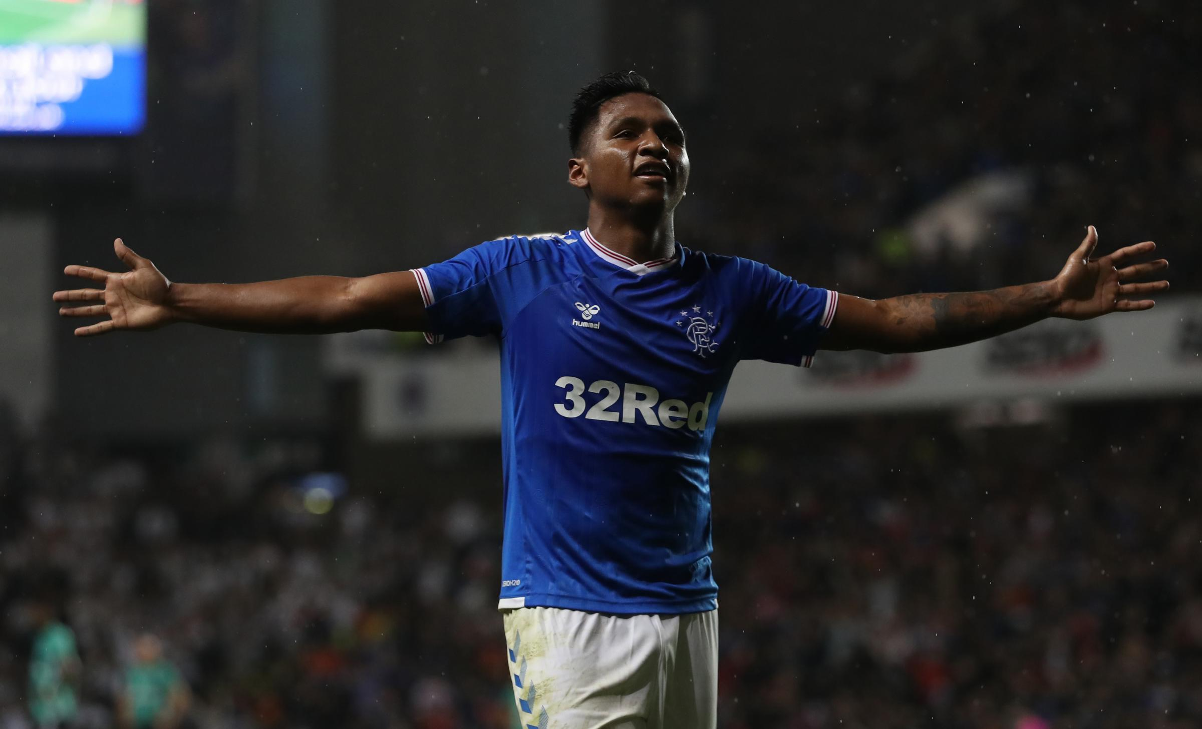 Rangers duo Steven Gerrard and Alfredo Morelos win monthly awards for first time