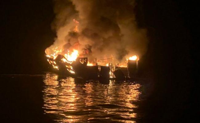25 bodies found after scuba dive boat catches fire off California