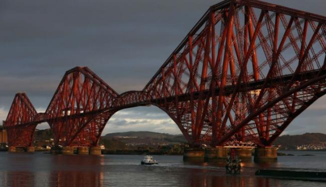 Forth Bridge closed due to concerns for man on rail line