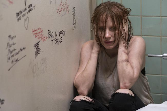 Jessica Chastain as Beverly Marsh. PA Photo/Warner Bros. Entertainment Inc./Brooke Palmer. Pictures