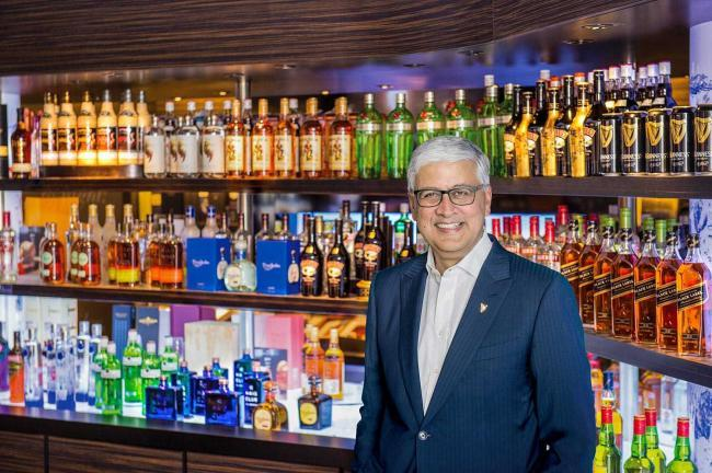 Ivan Menezes, chief executive of Diageo,