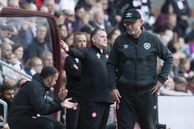 Hearts manager Craig Levein has come under pressure recently