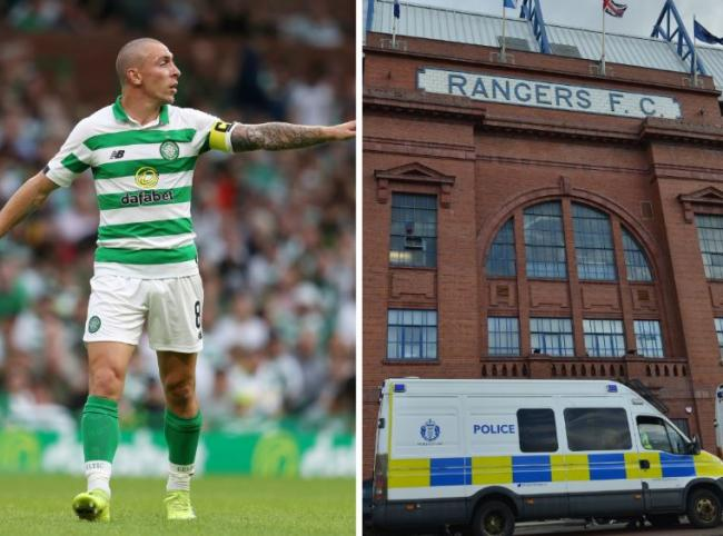 Teenager charged over alleged abuse of Celtic star Scott Brown outside Ibrox
