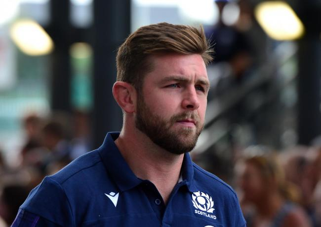 Ryan Wilson ahead of the Summer Test match between Scotland and France at Murrayfield Stadium. Picture: Getty
