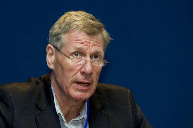 20/06/15.HAMPDEN - GLASGOW.Kenny MacAskill MSP speaks at this year's Supporters Direct Scotland conference at Hampden..