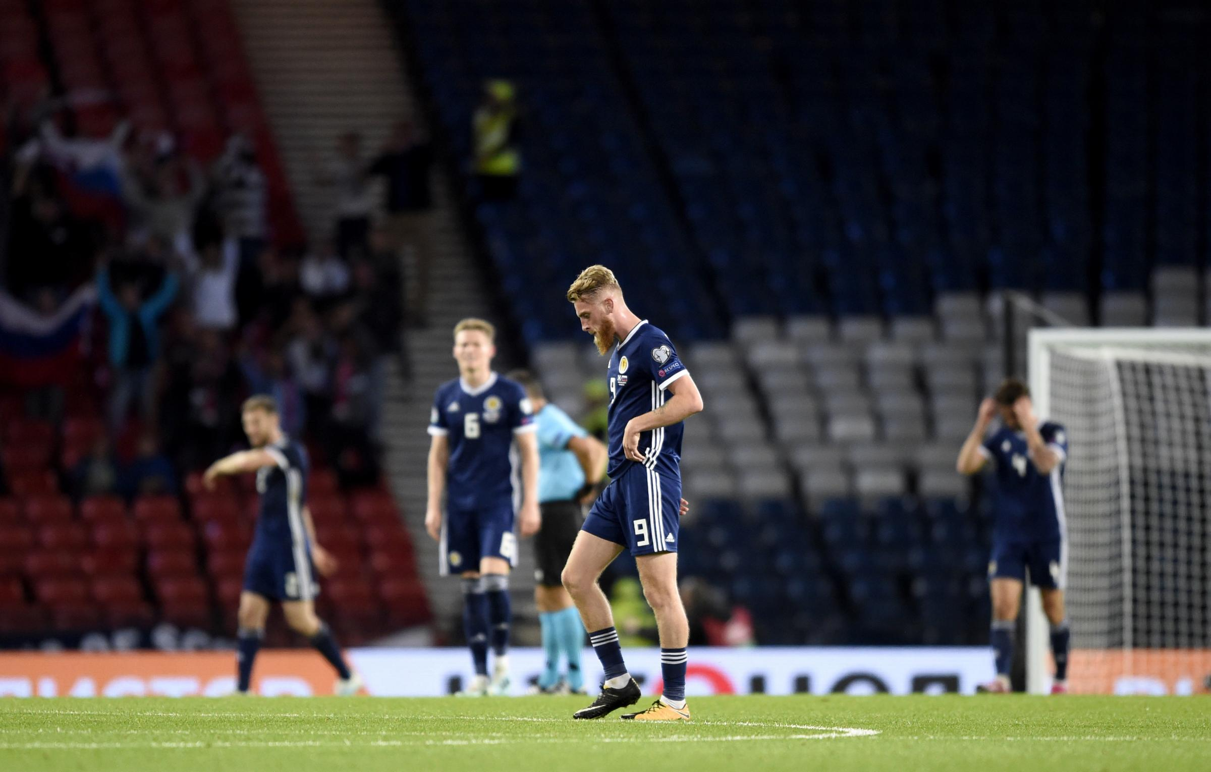 Player watch: Oli McBurnie may not have won over the doubters, but he proved his commitment to Scotland