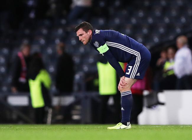 Andy Robertson struggles to see any positivity from Scotland's position in their group