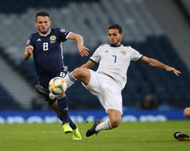 Scotland fans failed to turn out in large numbers to watch John McGinn and his team-mates take on Russia in the Euro 2020 qualifier at Hampden