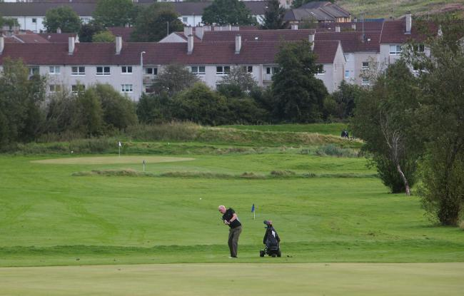 The municipally-owned Linn Park golf course in Glasgow