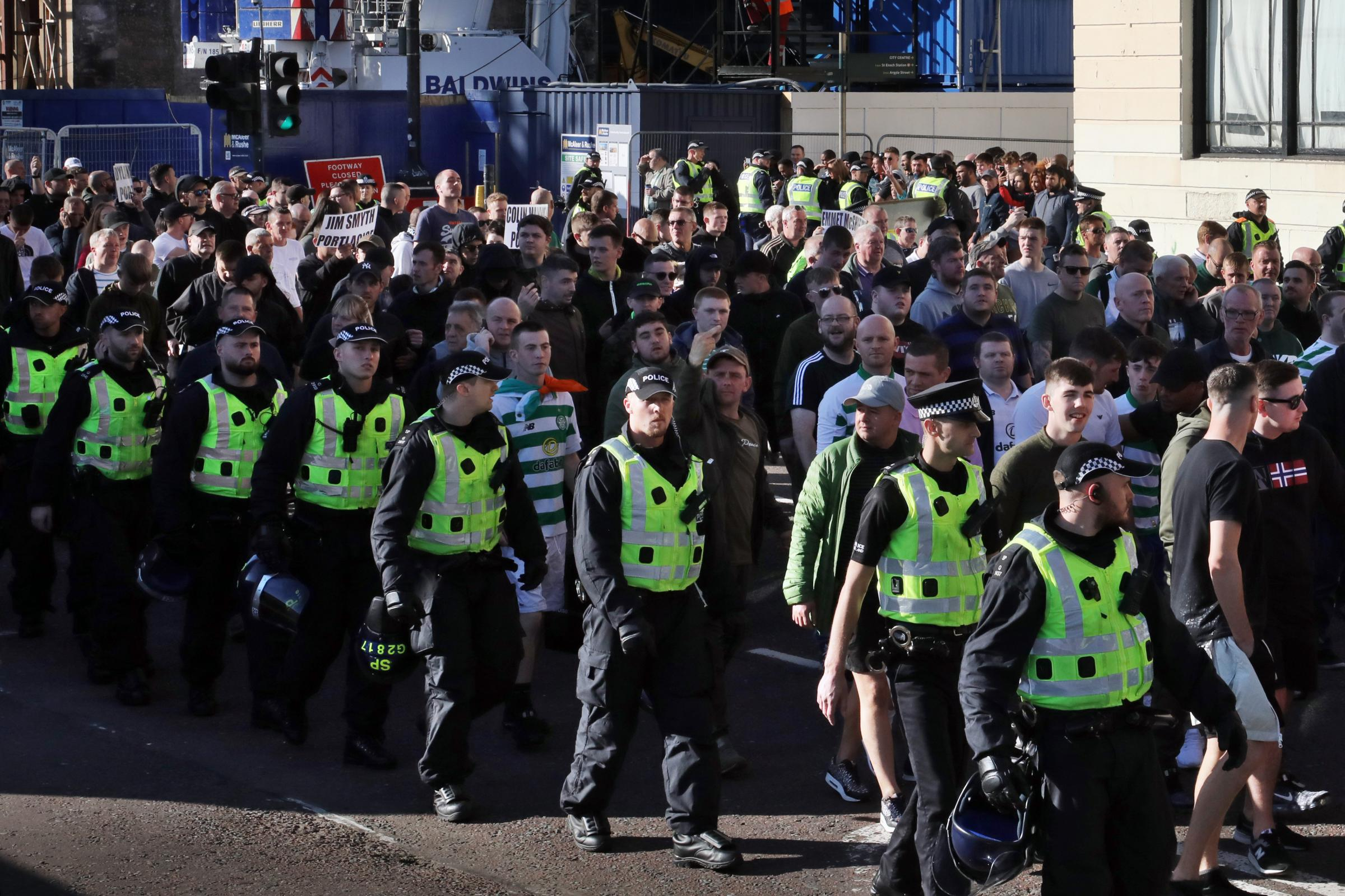 Council: Glasgow 'must pull together' against sectarian violence