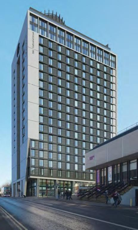 The CA Ventures development planned for Glasgow