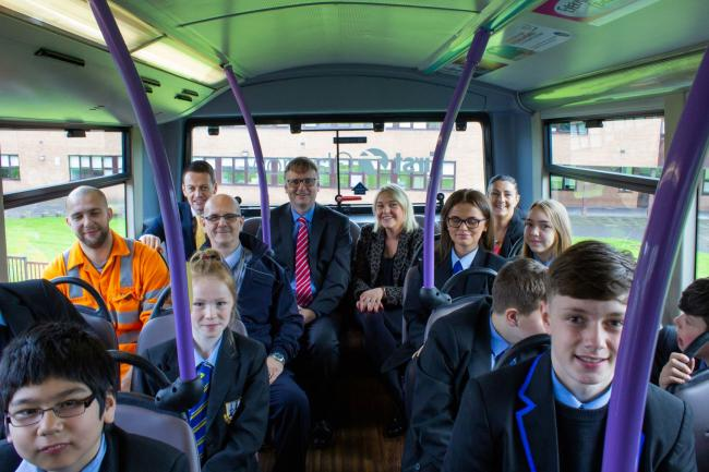 First Glasgow Announce Partnership Link Up With John Paul Academy As Part Of New Dyw Partnership Heraldscotland