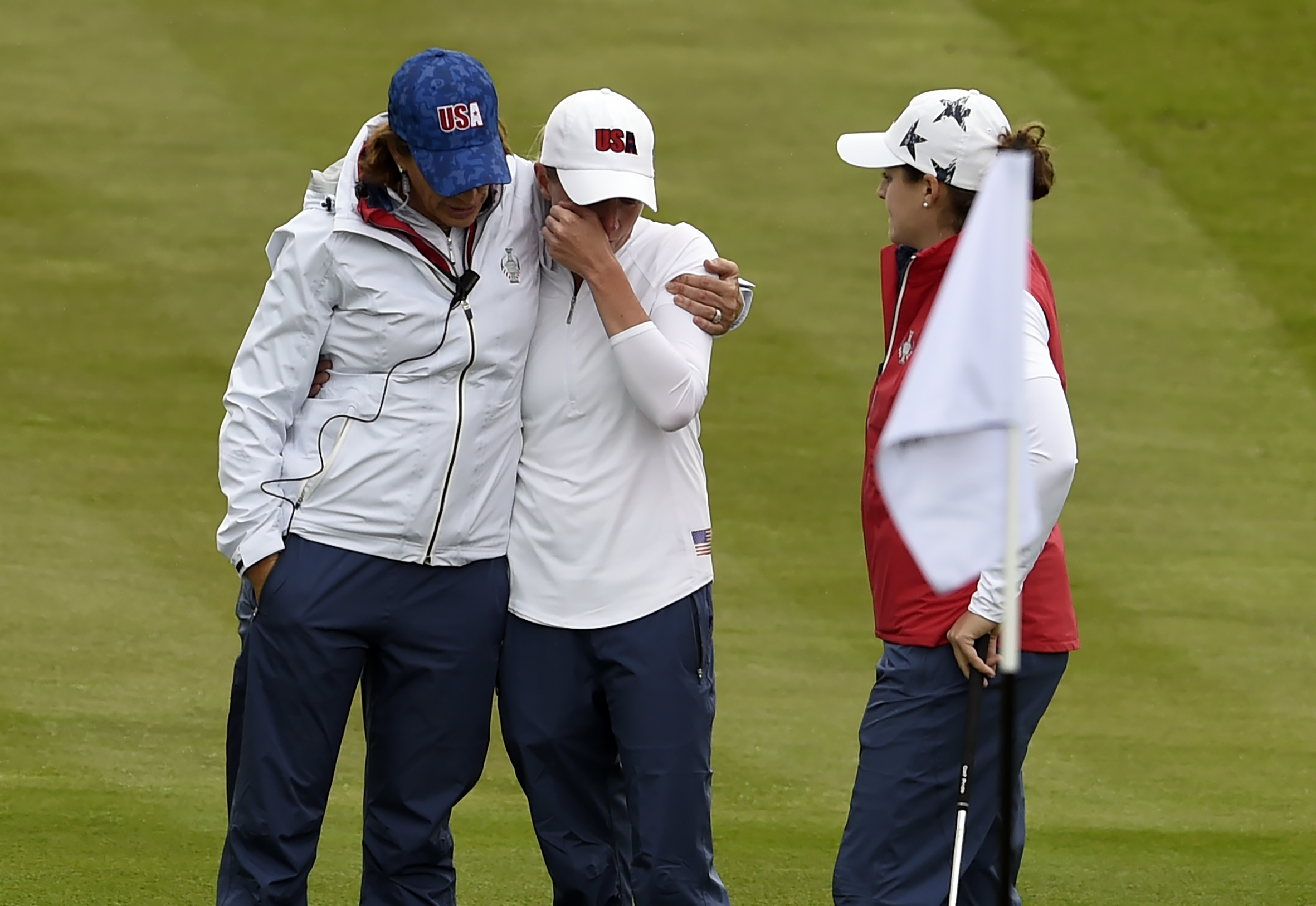 Image result for stacey lewis withdraws from solheim cup