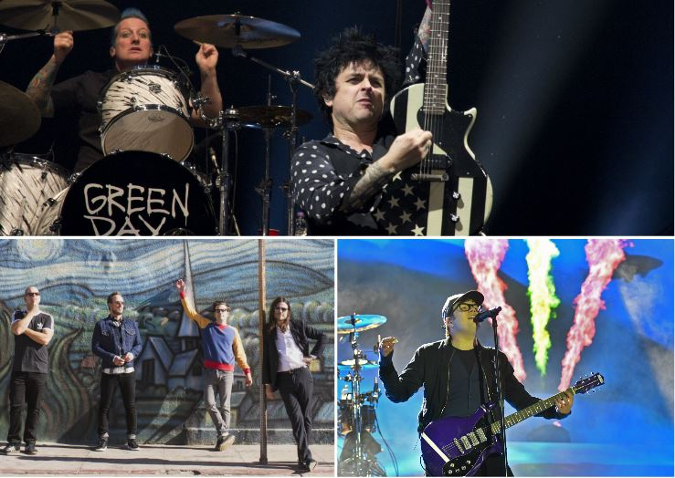 Green Day, Weezer and Fall Out Boy to play Glasgow 'Hella Mega'