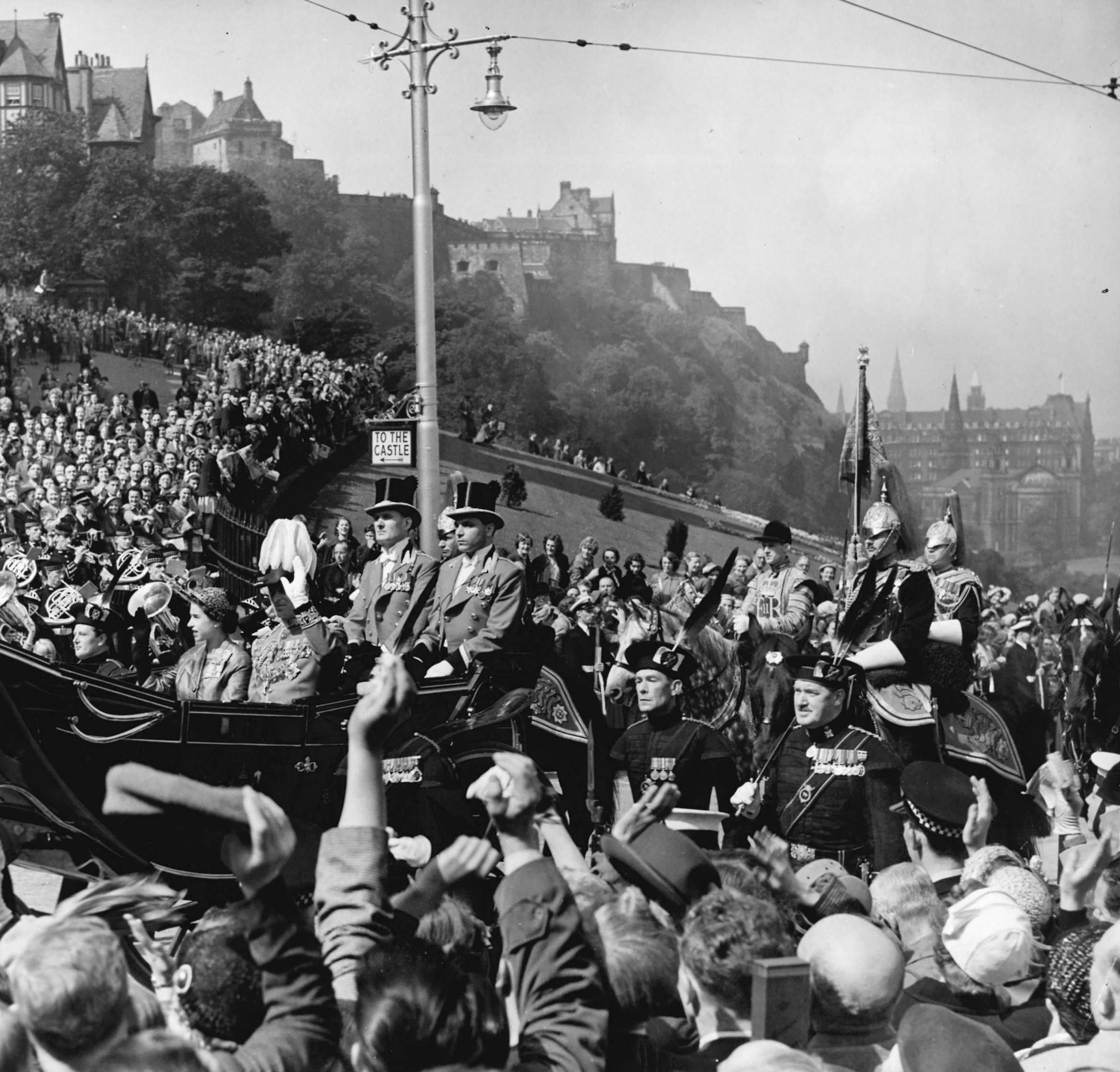 Those were the days - 1953: The Queen's State visit to Edinburgh