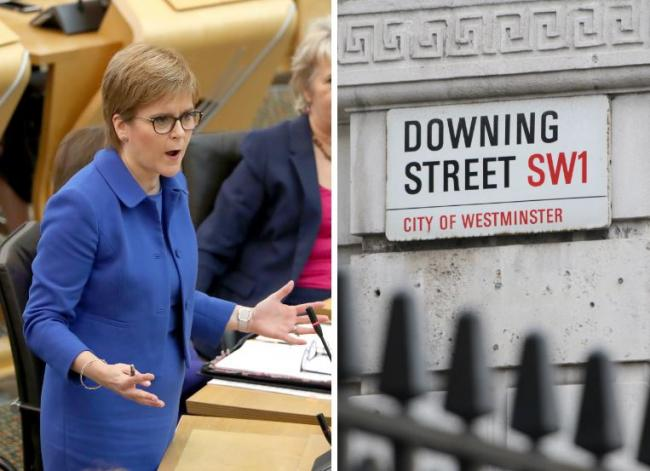 'Pitiful, pathetic and desperate' Nicola Sturgeon hits out at Downing Street over bias claim