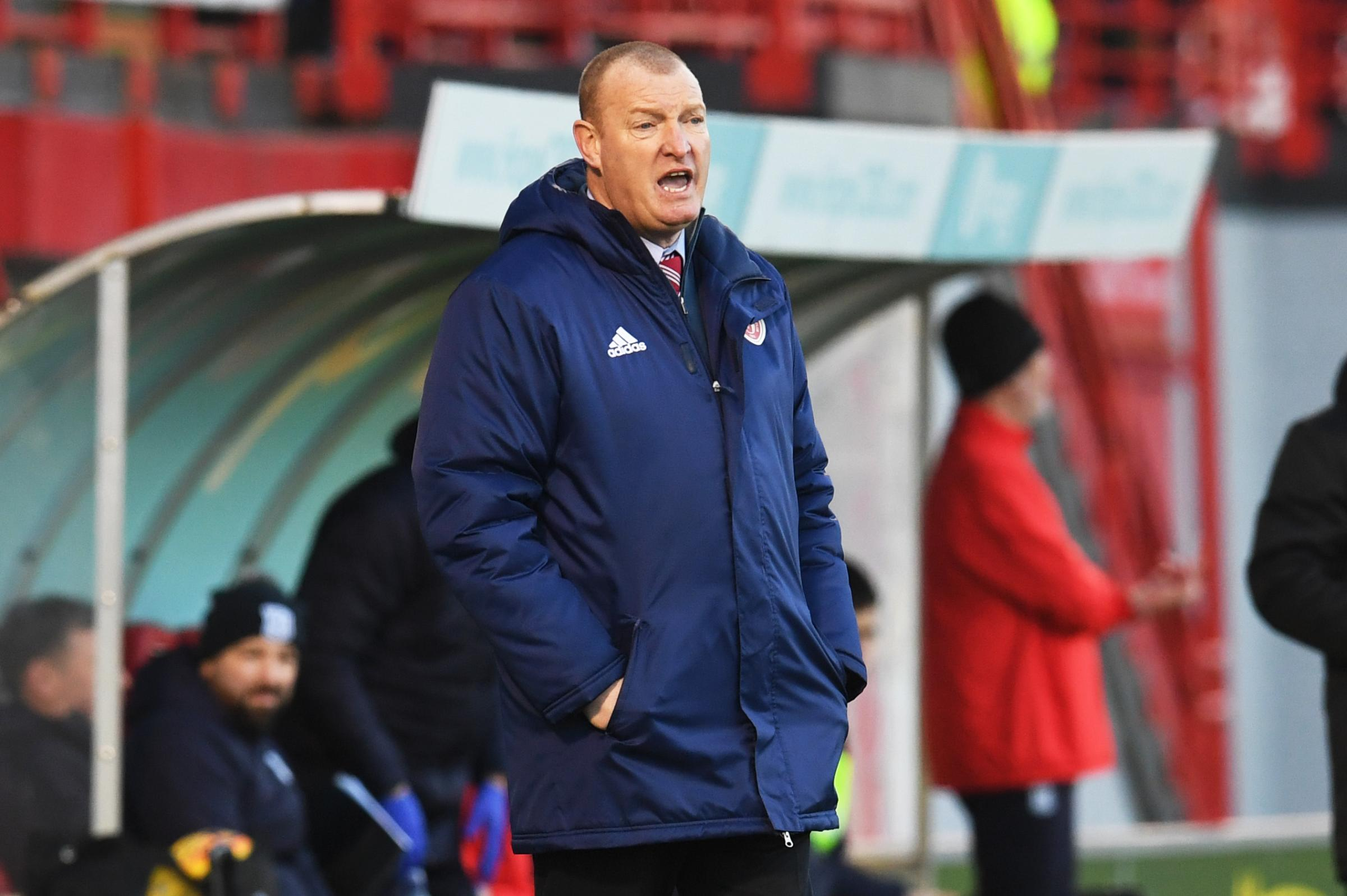 Hamilton boss Brian Rice hoping to catch Celtic off-guard