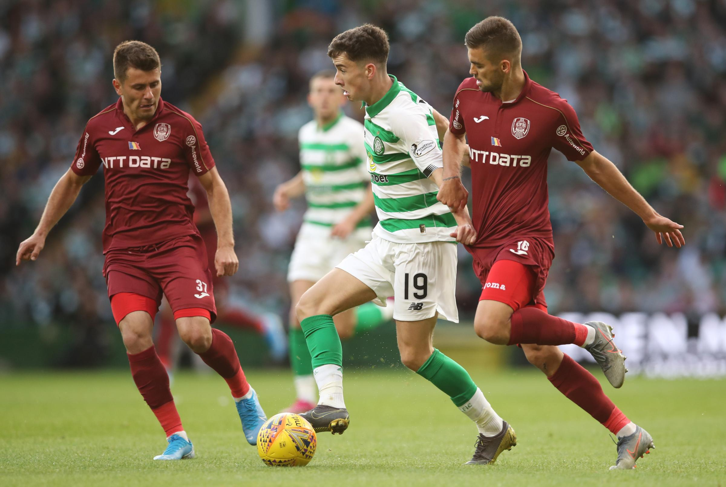 Celtic winger Mikey Johnston ruled out of Hamilton fixture