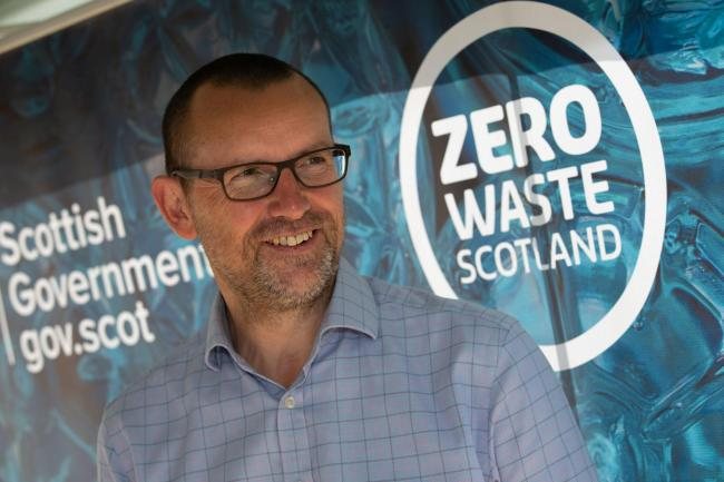 Iain Gulland, chief executive, Zero Waste Scotland
