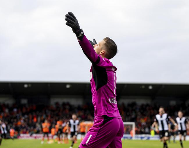 We need to talk about St Mirren goalkeeper Vaclav Hladky