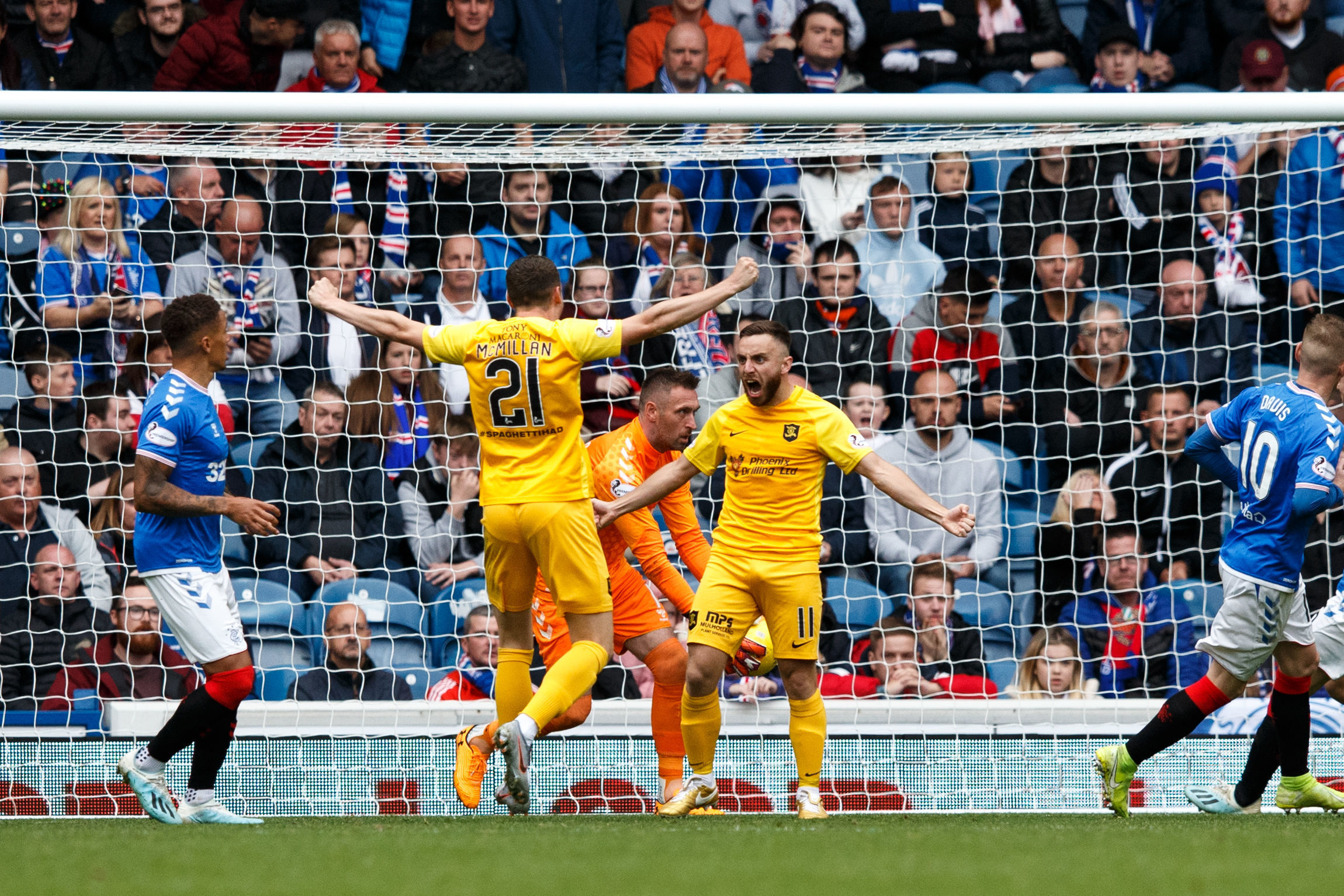 Chris Erskine reckons Livingston can be proud of their efforts in defeat to Rangers