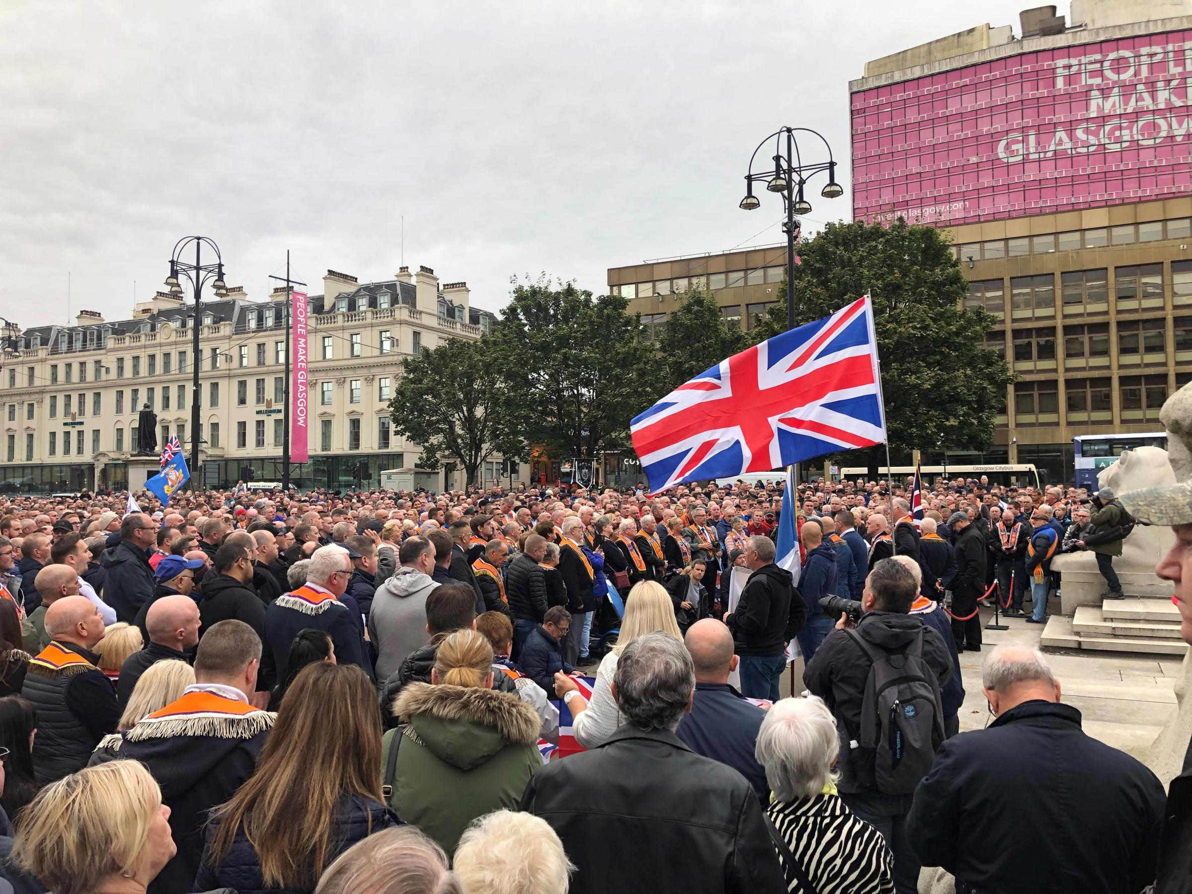 Four loyalist marches get Glasgow City Council go-ahead this weekend