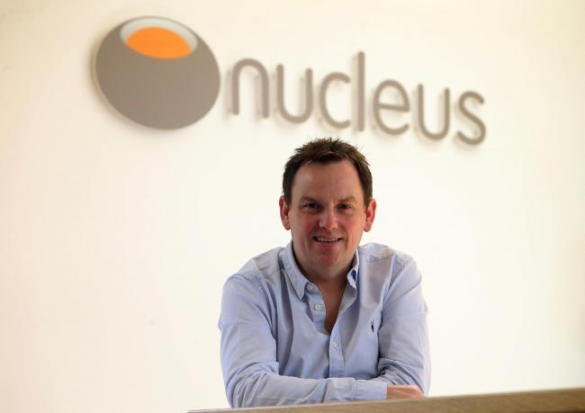 Nucelus founder and chief executive David Ferguson.Picture: Gordon Terris