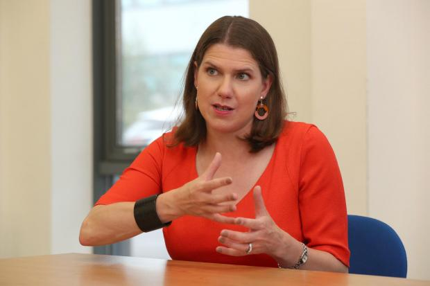 Liberal Democrat party leader Jo Swinson visiting Bournemouth College, during the Liberal Democrats autumn conference. PA Photo. Picture date: Monday September 16, 2019. See PA story LIBDEMS Main. Photo credit should read: Jonathan Brady/PA Wire