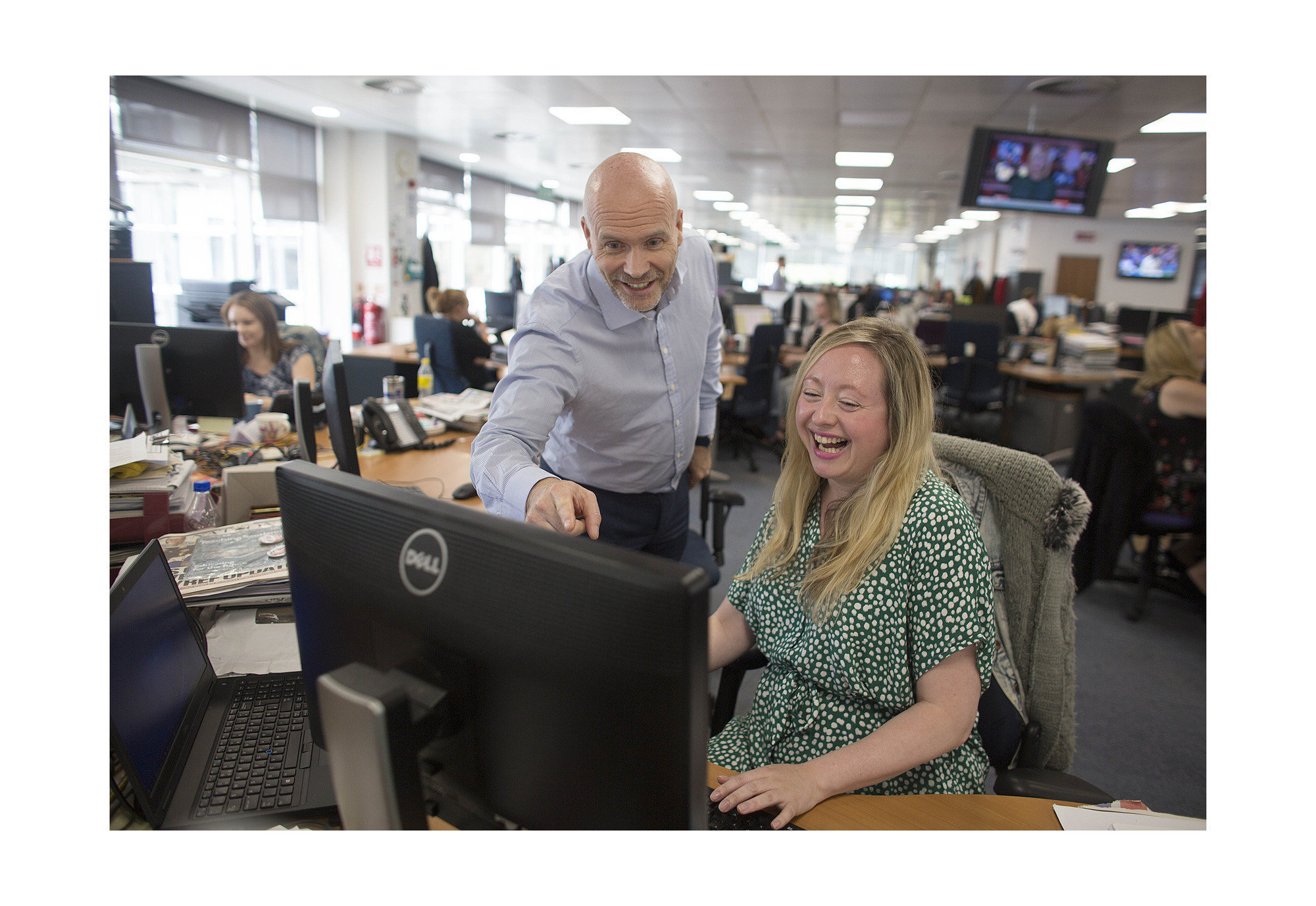 The Papers: Why we let a BBC crew film The Herald newsroom