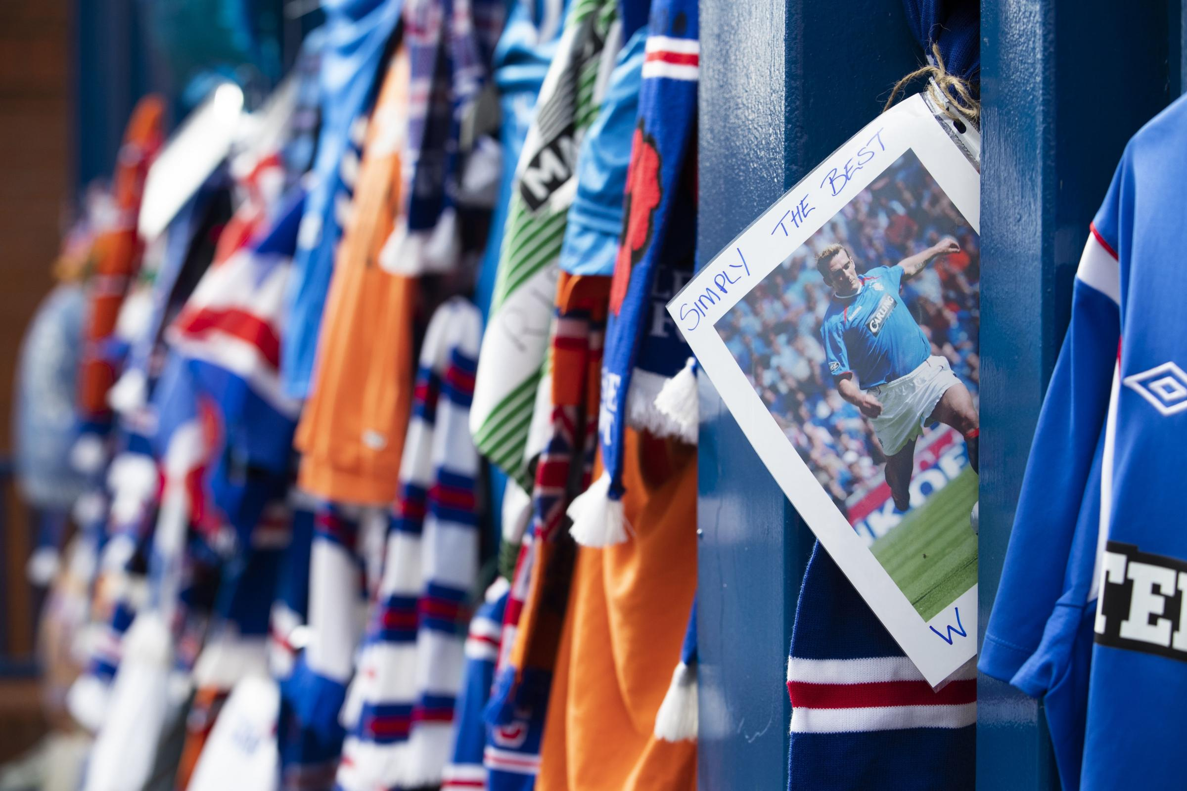 Steven Gerrard calls on fans to help Rangers pay the ultimate tribute to tragic Ibrox great