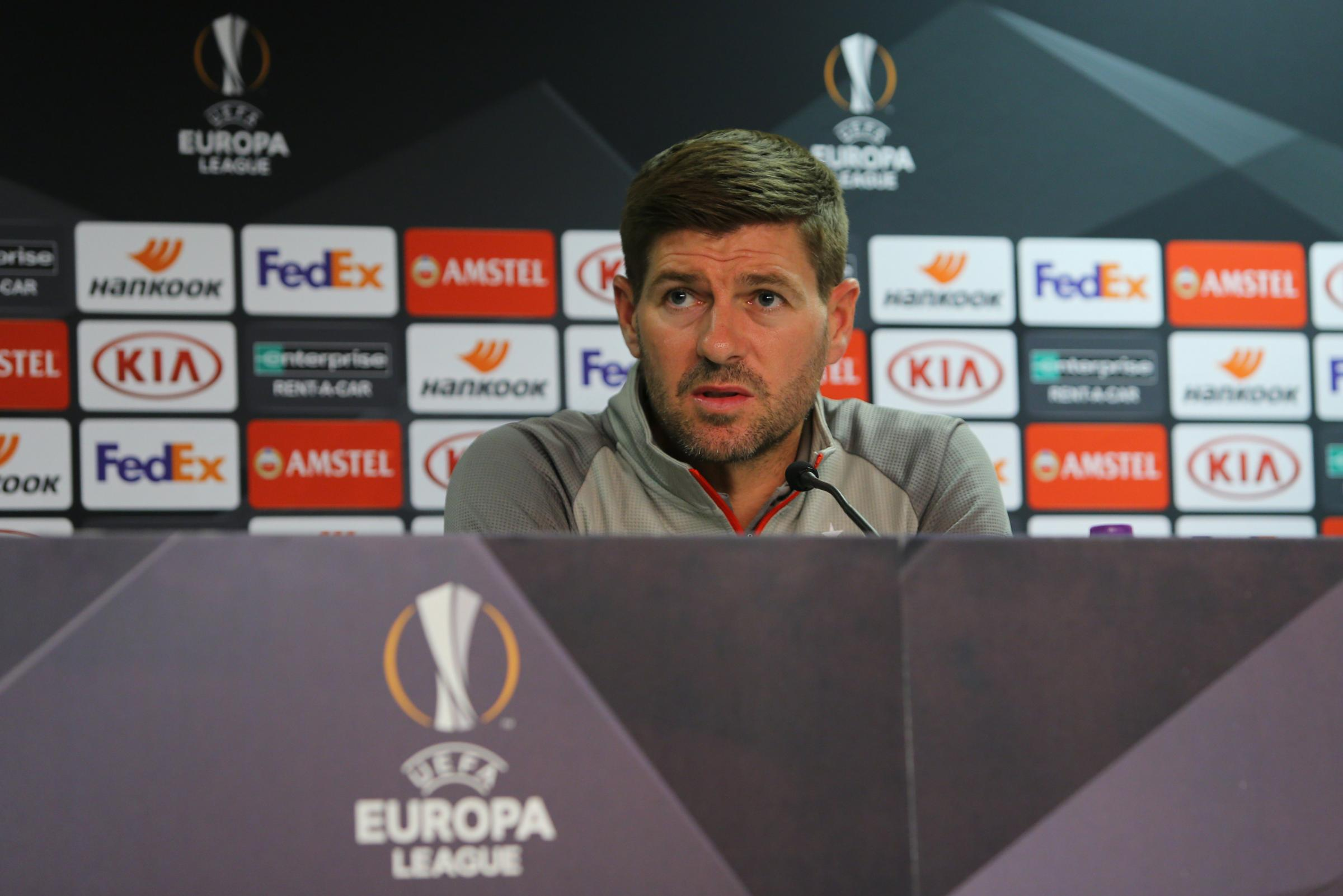 Steven Gerrard confident superior quality and experience can help Rangers can reach Europa League last 32