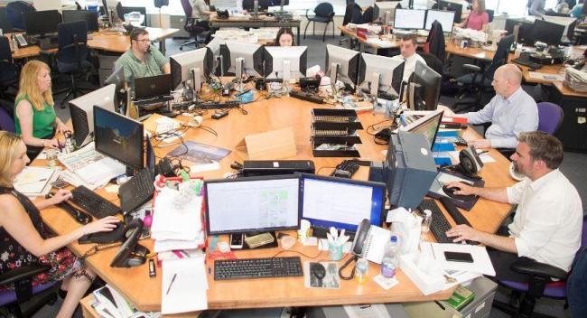 The Herald and Times Group ... in all its gory glory.