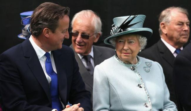Palace's 'displeasure' at David Cameron's indiscretion over Queen comments