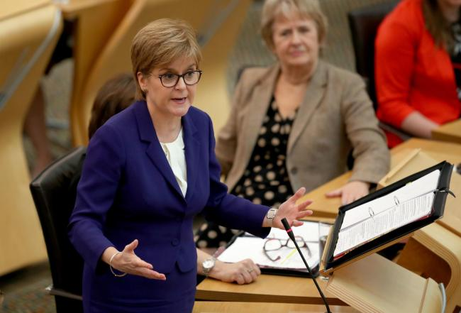 'You will never be First Minister' Nicola Sturgeon hits out at