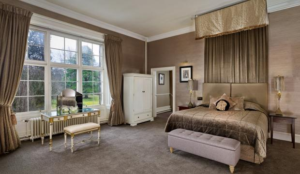 HeraldScotland: Grand suite bedroom
