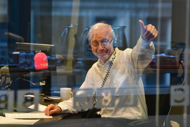 Broadcaster John Humphrys bids farewell to fans after 5000 shows