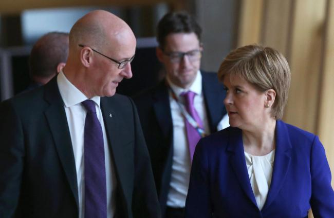 John Swinney refused to apologise for the costly climbdown
