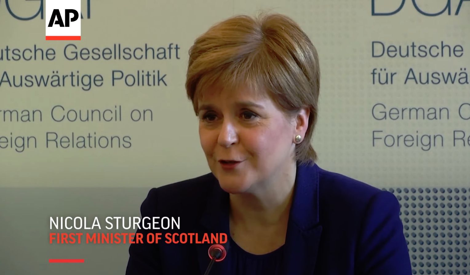 Sturgeon confirms a Yes vote on independence could be reversed