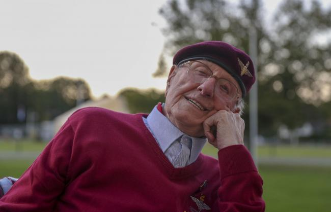 Former paratrooper Sandy Cortmann, from Aberdeen, has made an emotional return to Arnhem in the Netherlands to mark the 75th anniversary of Operation Market Garden.