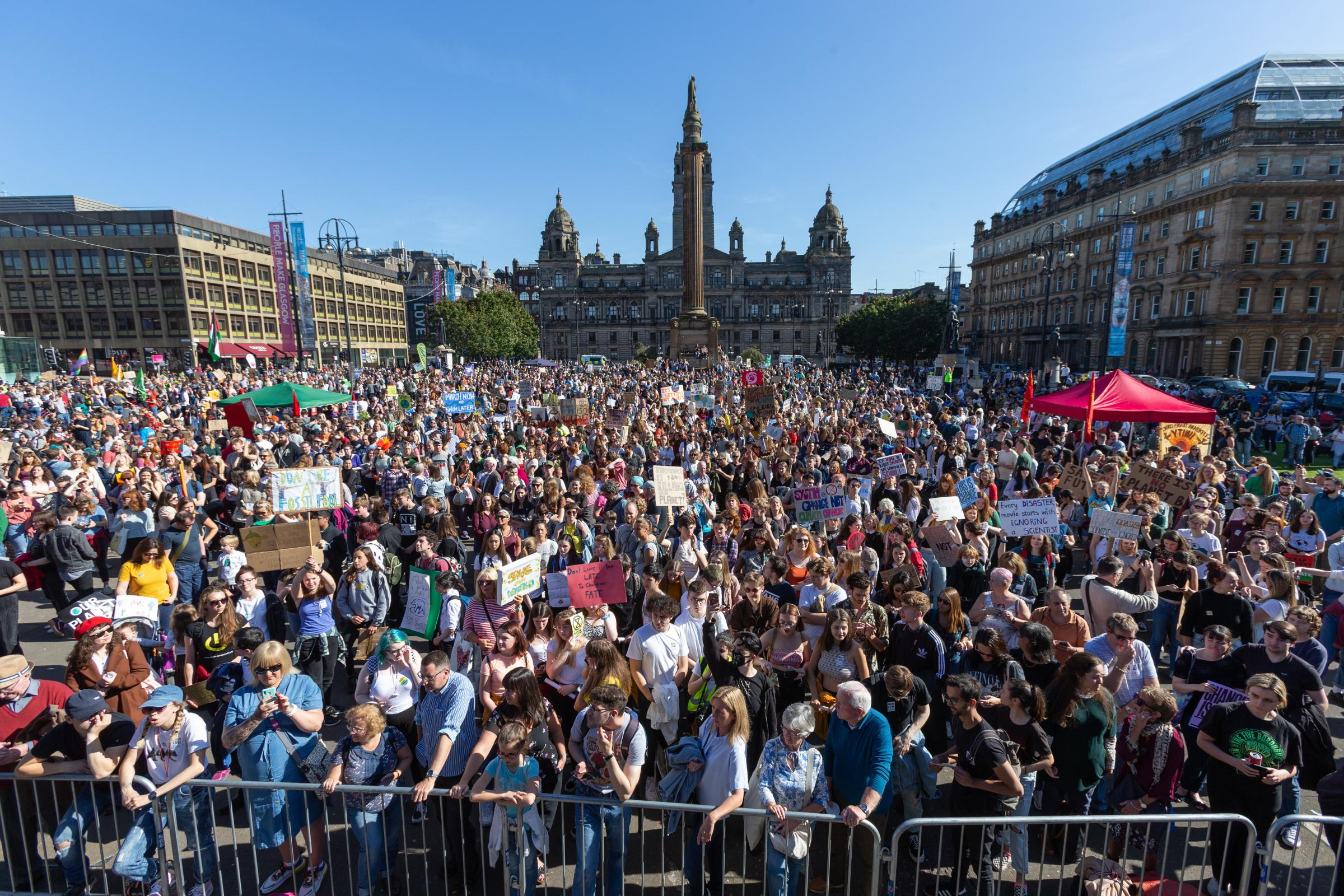 We Stand Together - thousands demand climate change action